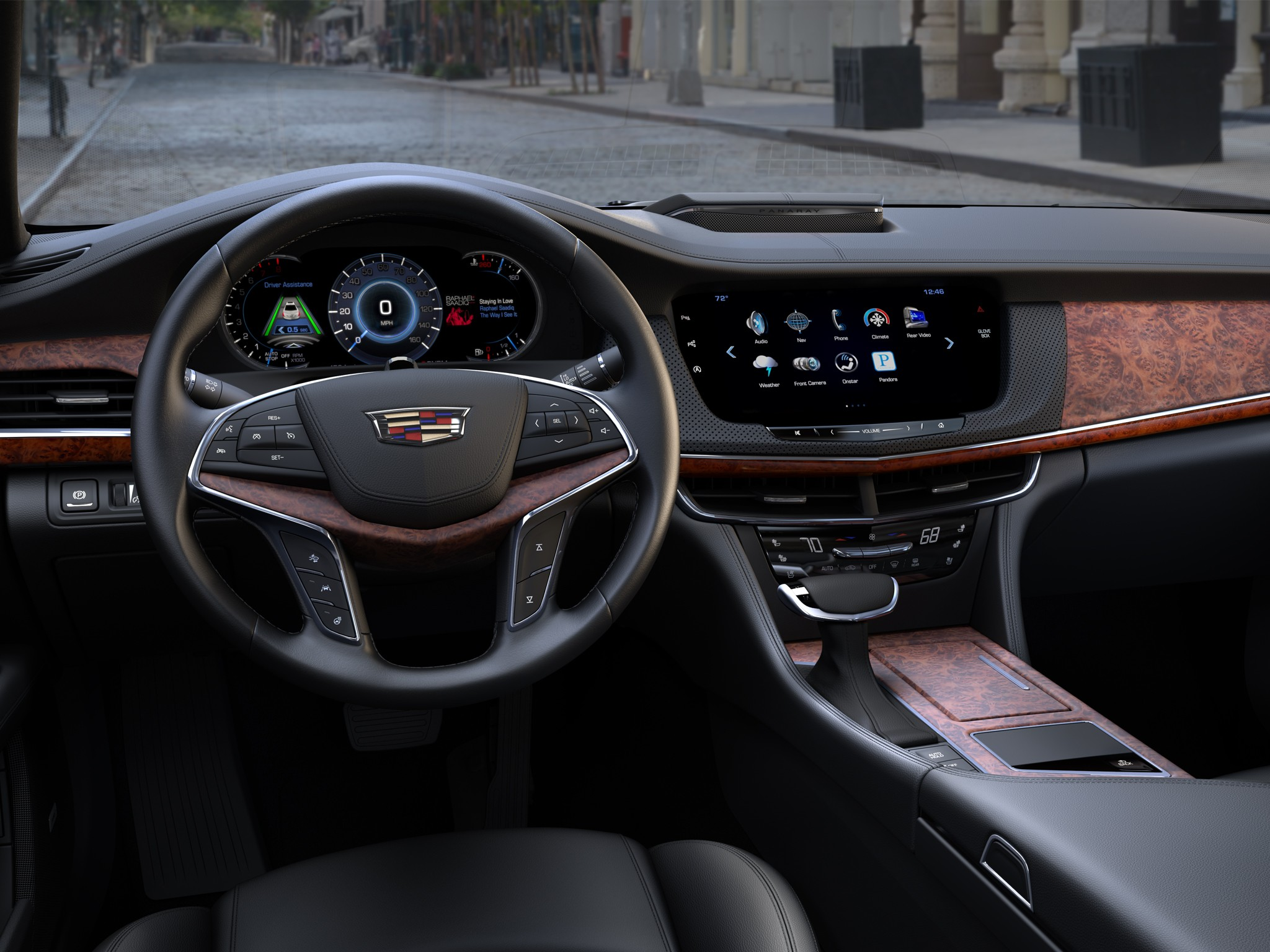 2017 cadillac ct6 will have a hands free autonomous driving system autoevolution. Black Bedroom Furniture Sets. Home Design Ideas