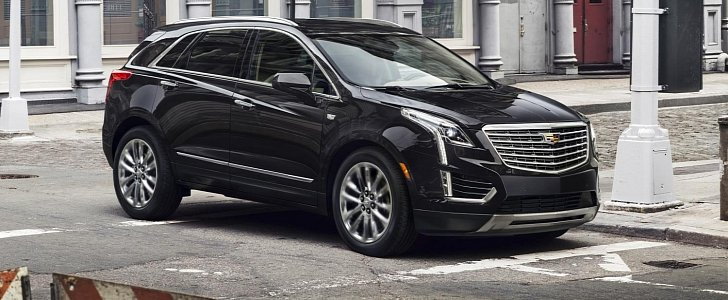 2017 cadillac xt5 crossover priced at 39 990 in the us arrives in april autoevolution. Black Bedroom Furniture Sets. Home Design Ideas