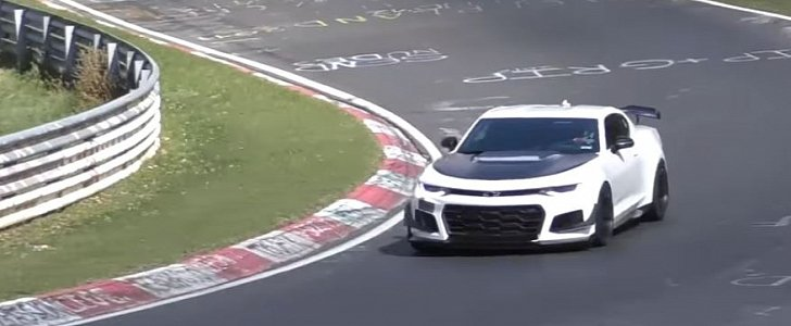 2017 Camaro ZL1 1LE Sets Muscle Car Nurburgring Record, Could Tie Ferrari 488