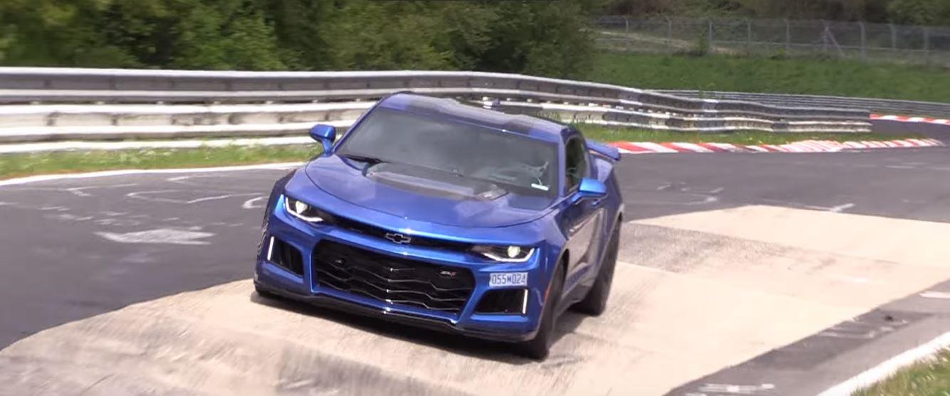 2017 Camaro ZL1 Nurburgring Testing: 10-Speed Auto vs. 6-Speed Manual