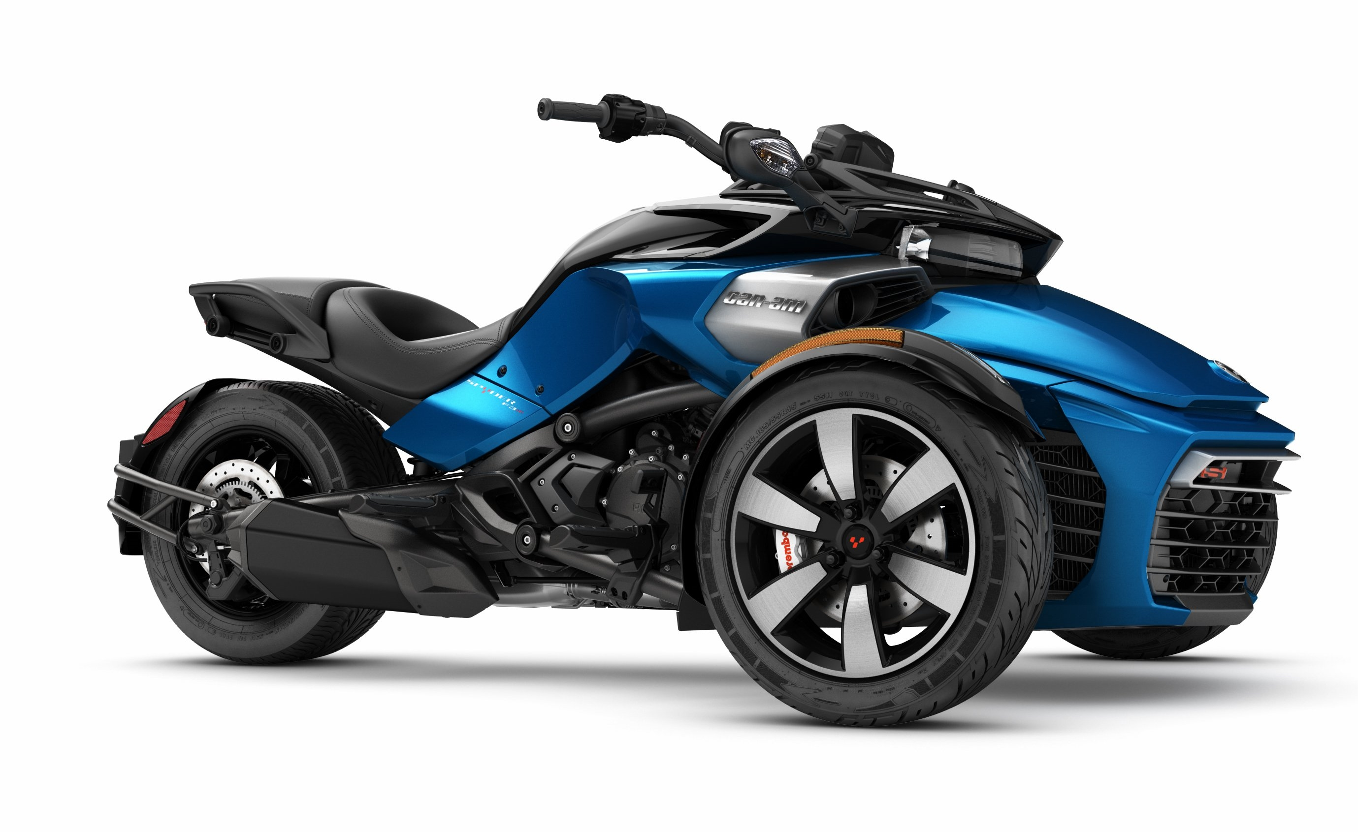 2017 can am spyder f3 s receives a sport mode autoevolution. Black Bedroom Furniture Sets. Home Design Ideas