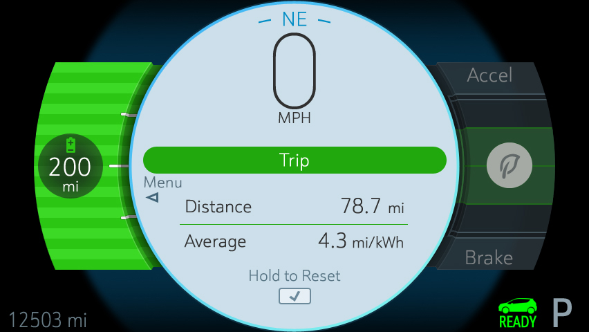 2017 Chevrolet Bolt One-Pedal Driving Mode Made Possible by