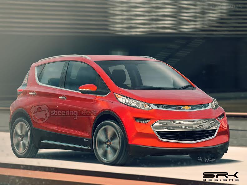 2017 Chevrolet Bolt Rendered In Production Clothing We Find It