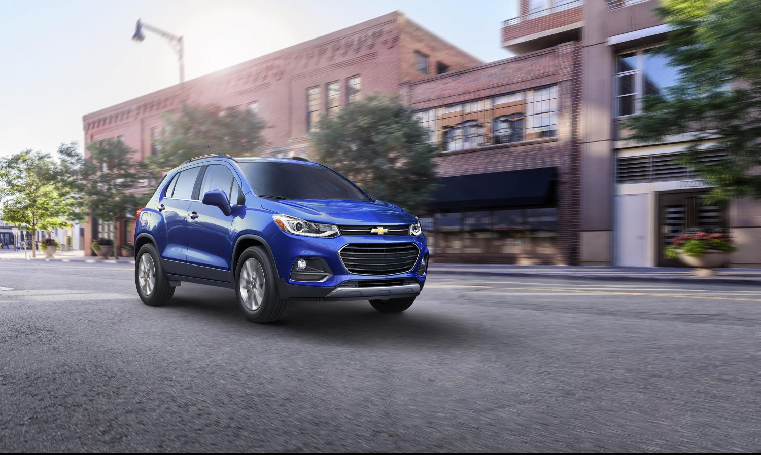 2017 Chevrolet Trax Priced In The United States From 21 895 Autoevolution