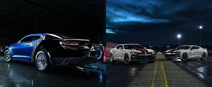 2017 COPO Camaro Revealed Alongside Camaro SS Drag Racing ...