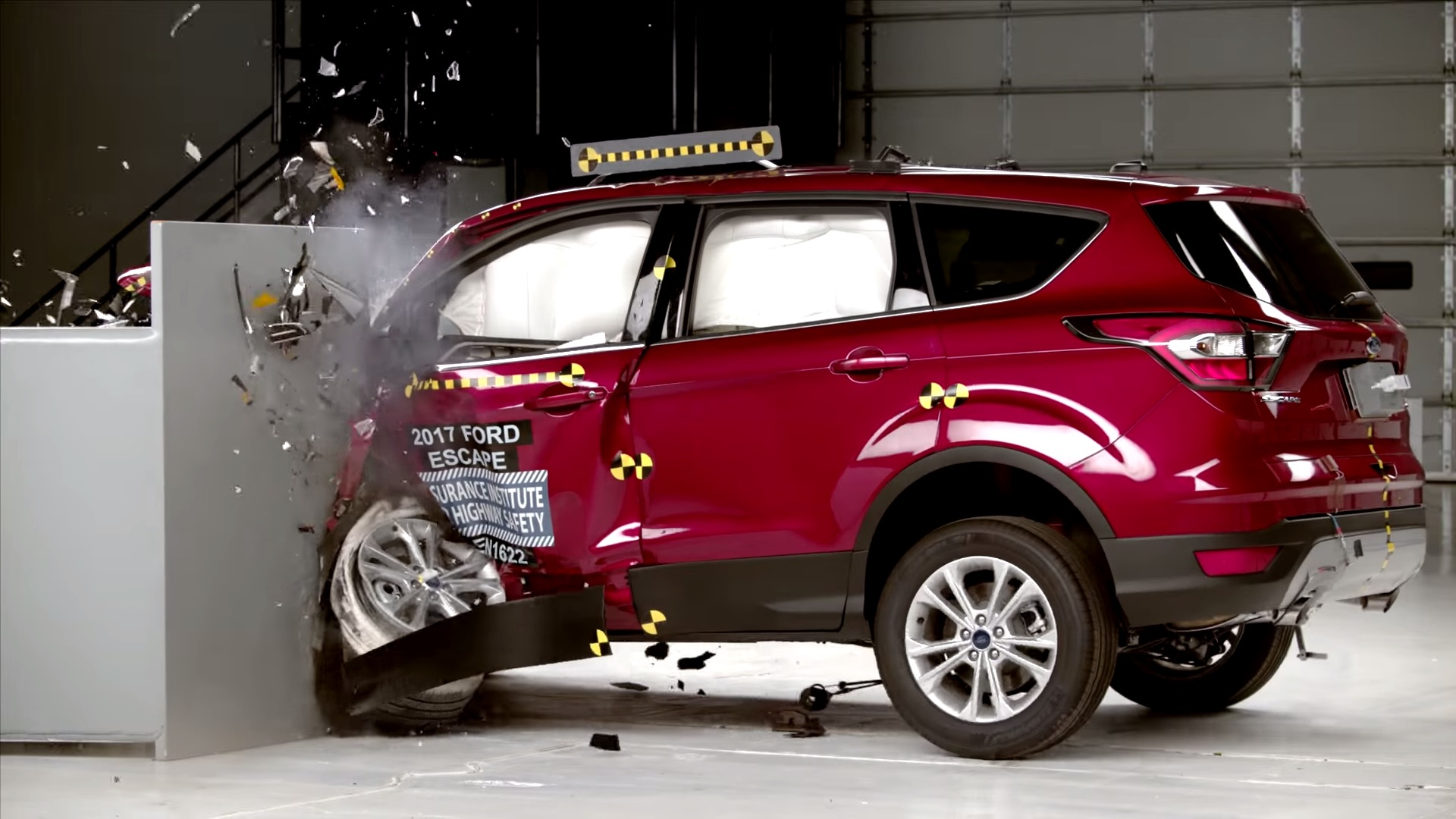 "Used Ford Escape >> 2017 Ford Escape Rated ""Acceptable"" in Small Overlap Front Crash Test - autoevolution"