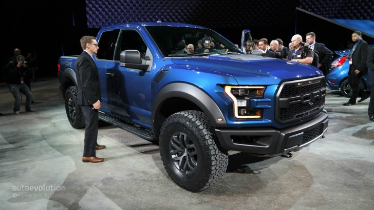 Ford Pickup Raptor >> 2017 Ford F-150 Raptor Debuts at Detroit, Feels More Practical [Live Photos] - autoevolution