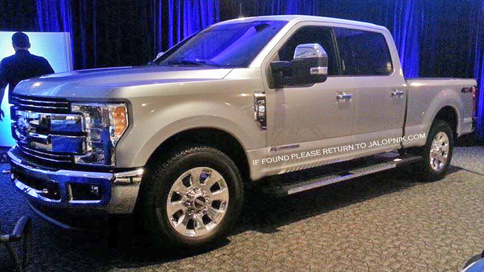 2017 Ford F-250 Super Duty Unveiled, It's Got an Aluminum Body Shell ...