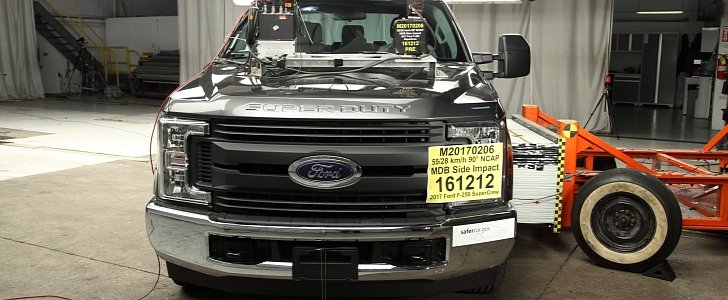 2017 ford f 250 supercrew awarded 5 stars for safety by the nhtsa autoevolution. Black Bedroom Furniture Sets. Home Design Ideas