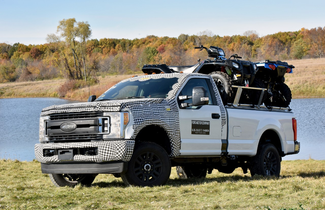 2017 Ford F-Series Super Duty Tested in Michigan, It's ...