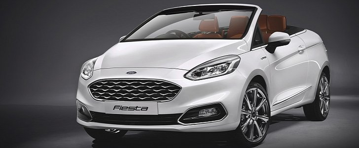 2017 Ford Fiesta Convertible Looks Like A Mini Alternative