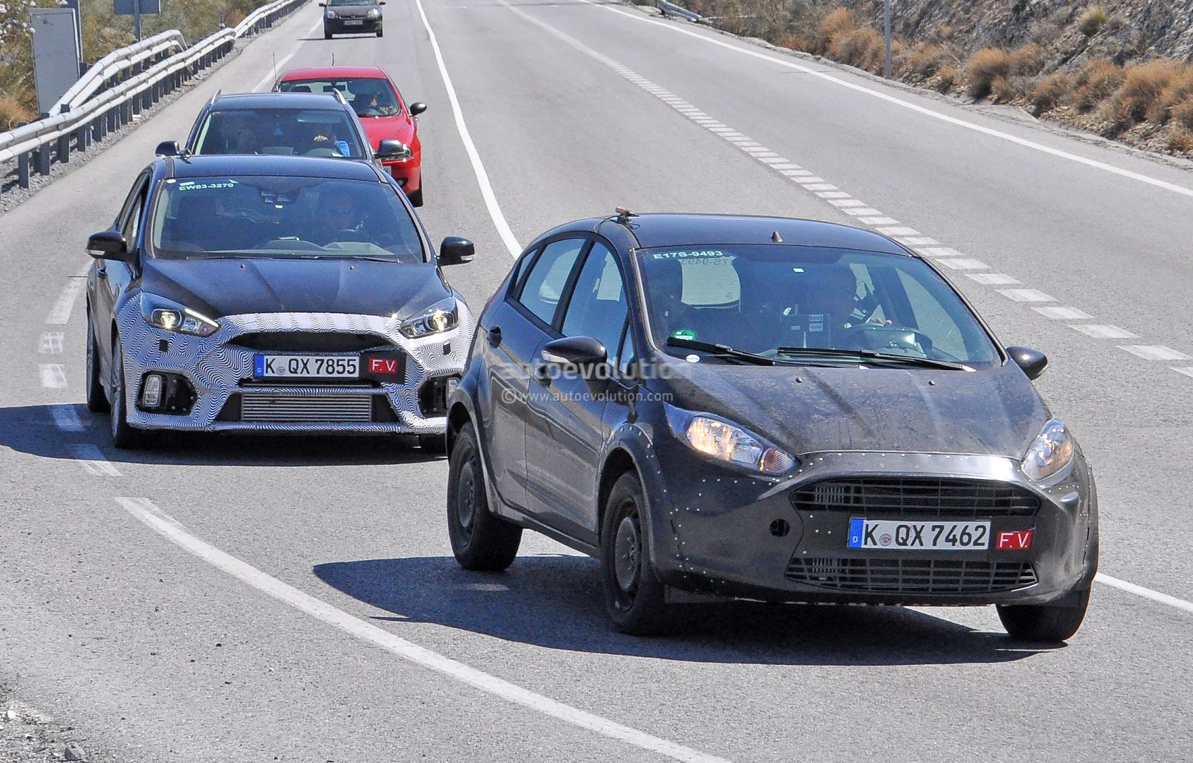 Ford Fiesta Rs 2017 >> 2017 Ford Fiesta Rs Spied For The First Time Autoevolution