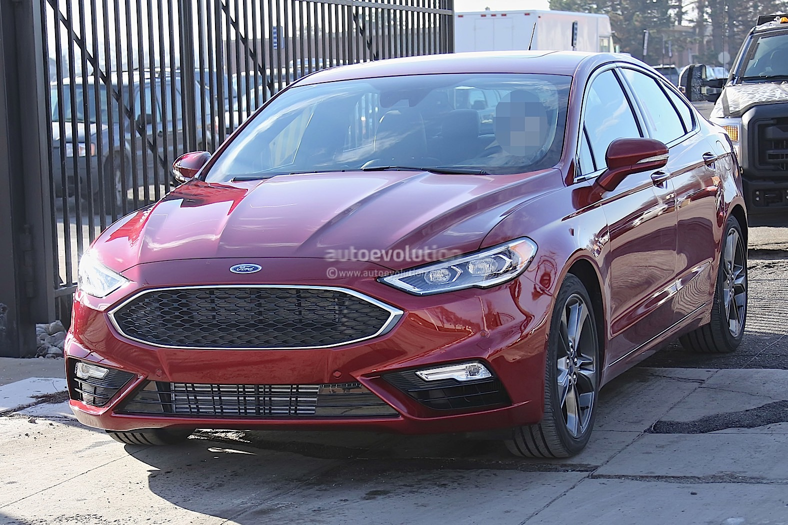 This Is The Ford Fusion Naked Ahead Of The Detroit Auto Show - Ford show car
