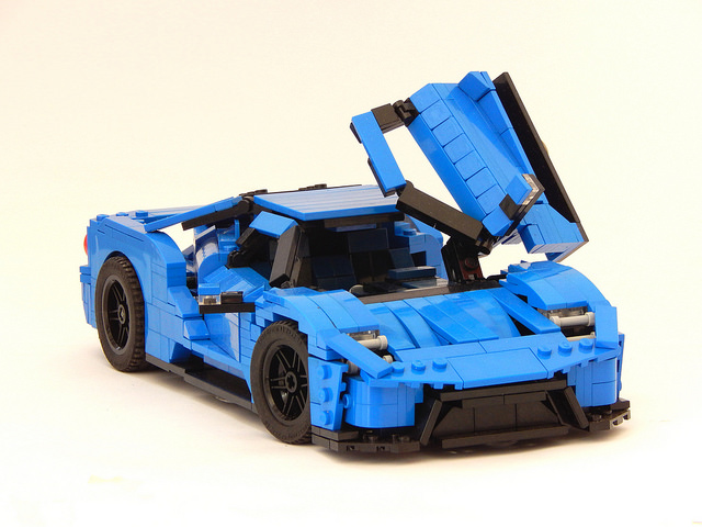 2017 Ford GT LEGO Car Is Not Just for Children - autoevolution