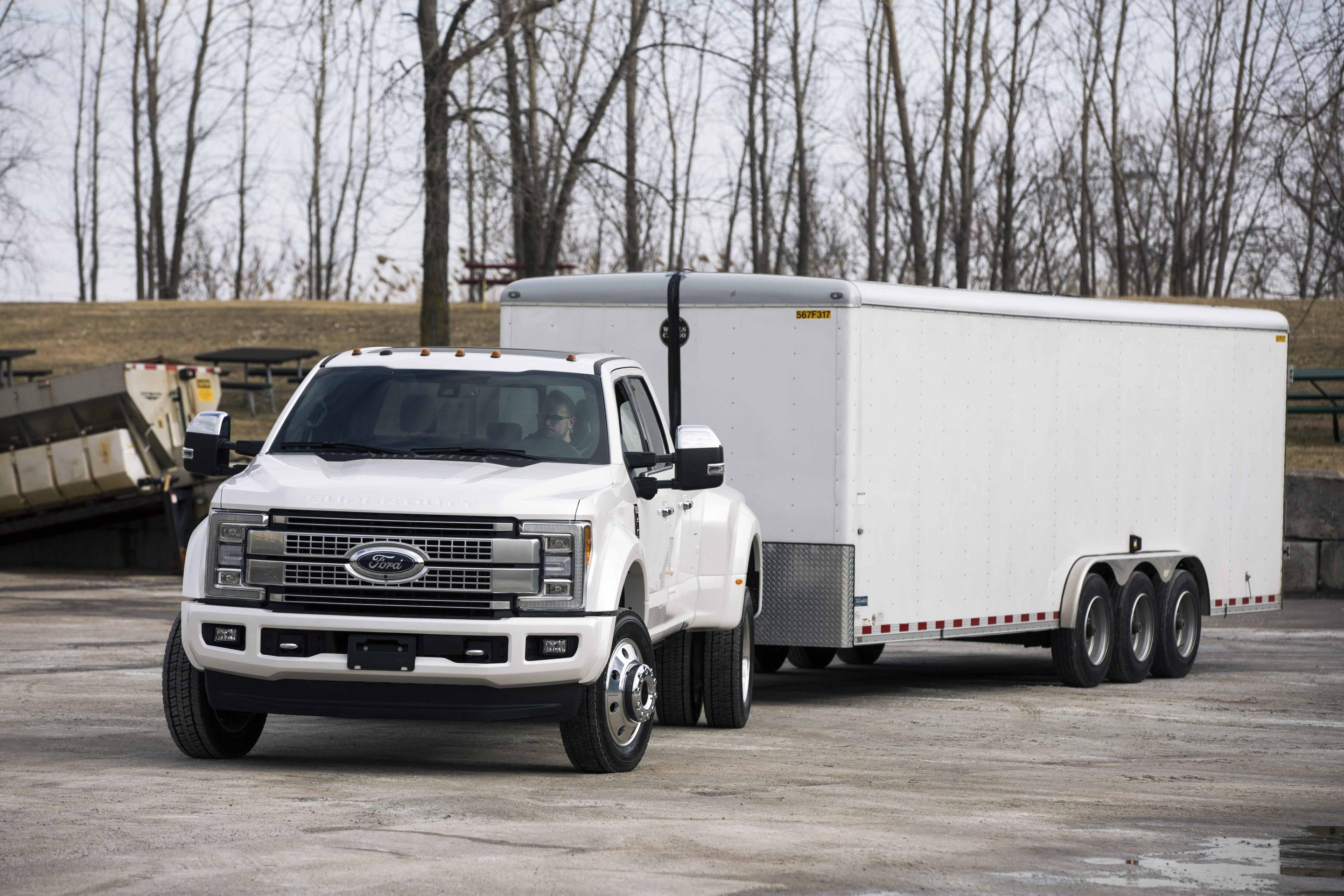 2017 Ford Super Duty Can Be Equipped With Seven Cameras