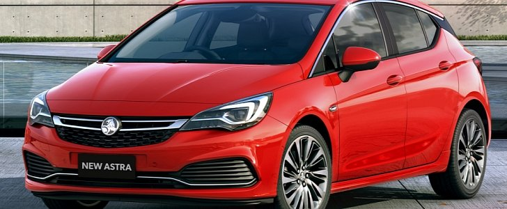 2017 Holden Astra For Australia Has Opc Line Kit And 200 Hp 1 6 Turbo Autoevolution