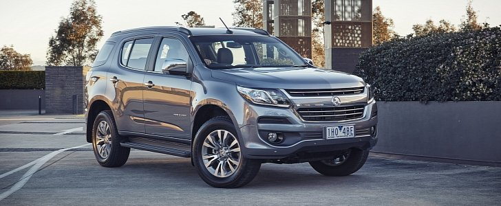 2017 Holden Trailblazer Replaces Colorado 7 Autoevolution