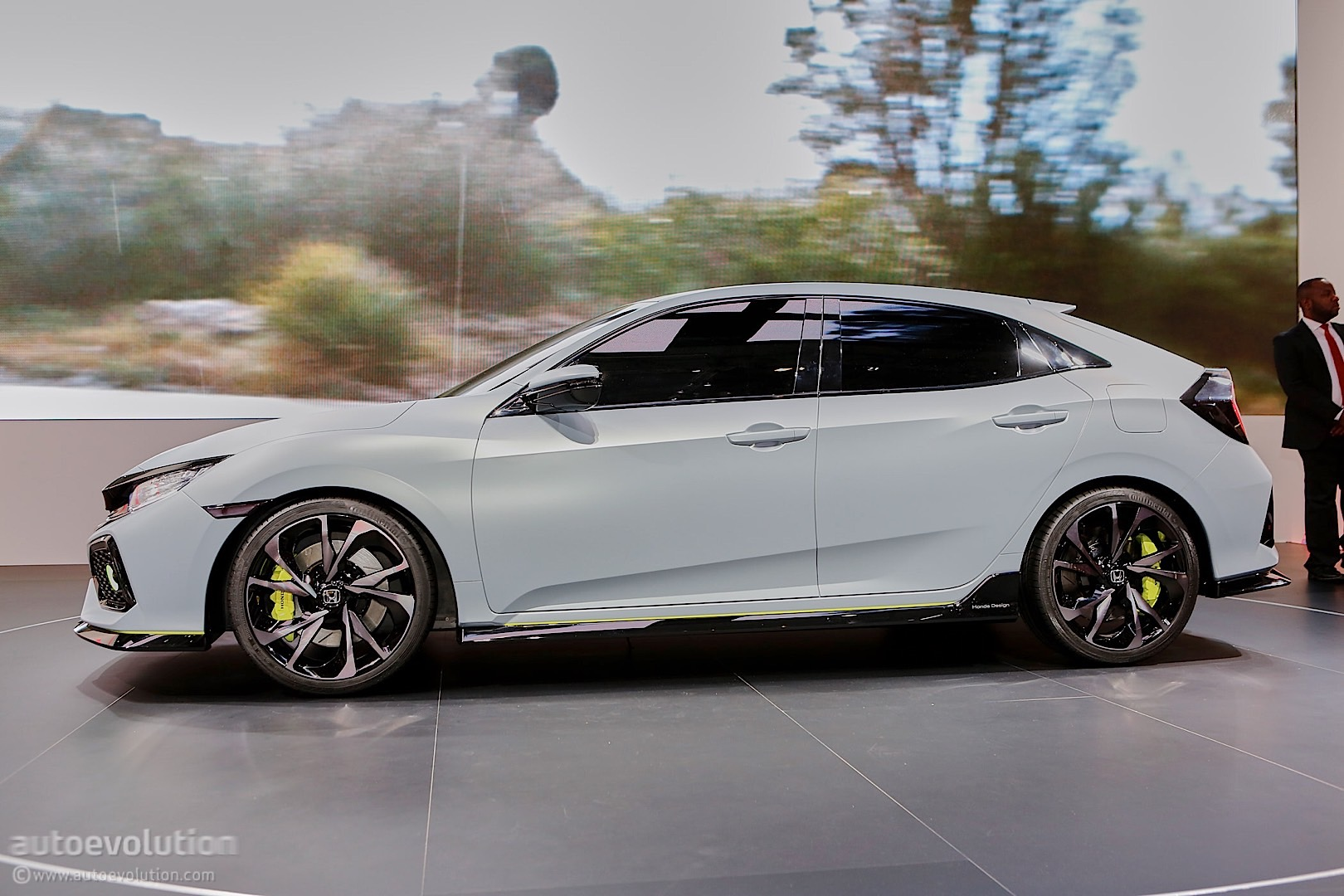 2017 Honda Civic Hatchback Previewed By Concept In Geneva