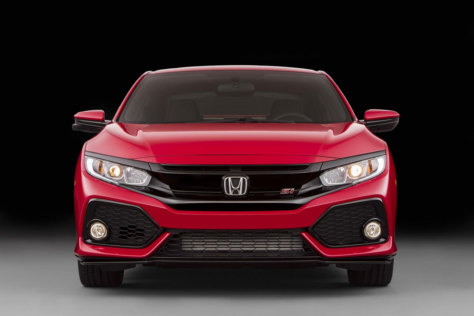 2017 Honda Civic Si Revealed With 1 5 Liter Turbo Engine