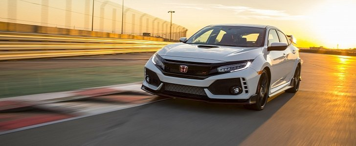 2017 honda civic type r for north america goes on sale priced from 33 900 autoevolution. Black Bedroom Furniture Sets. Home Design Ideas