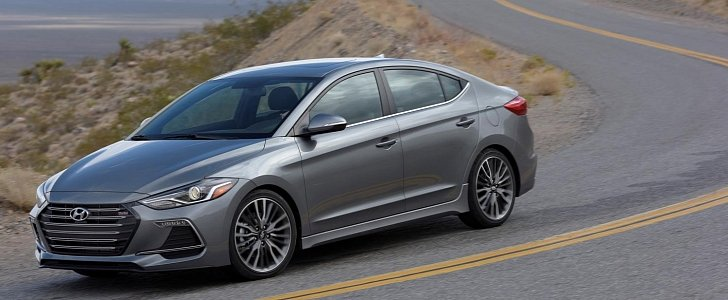 2017 Hyundai Elantra Sport Boasts IRS Turbo Engine 21650 Price