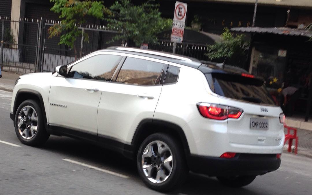 Popolare 2017 Jeep Compass Spied In the Buff, Mixes Grand Cherokee With  CY75