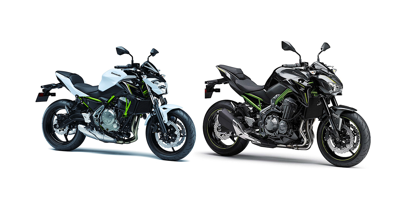 2017 kawasaki z650 replacing er6-n, upgraded z900 debuting at