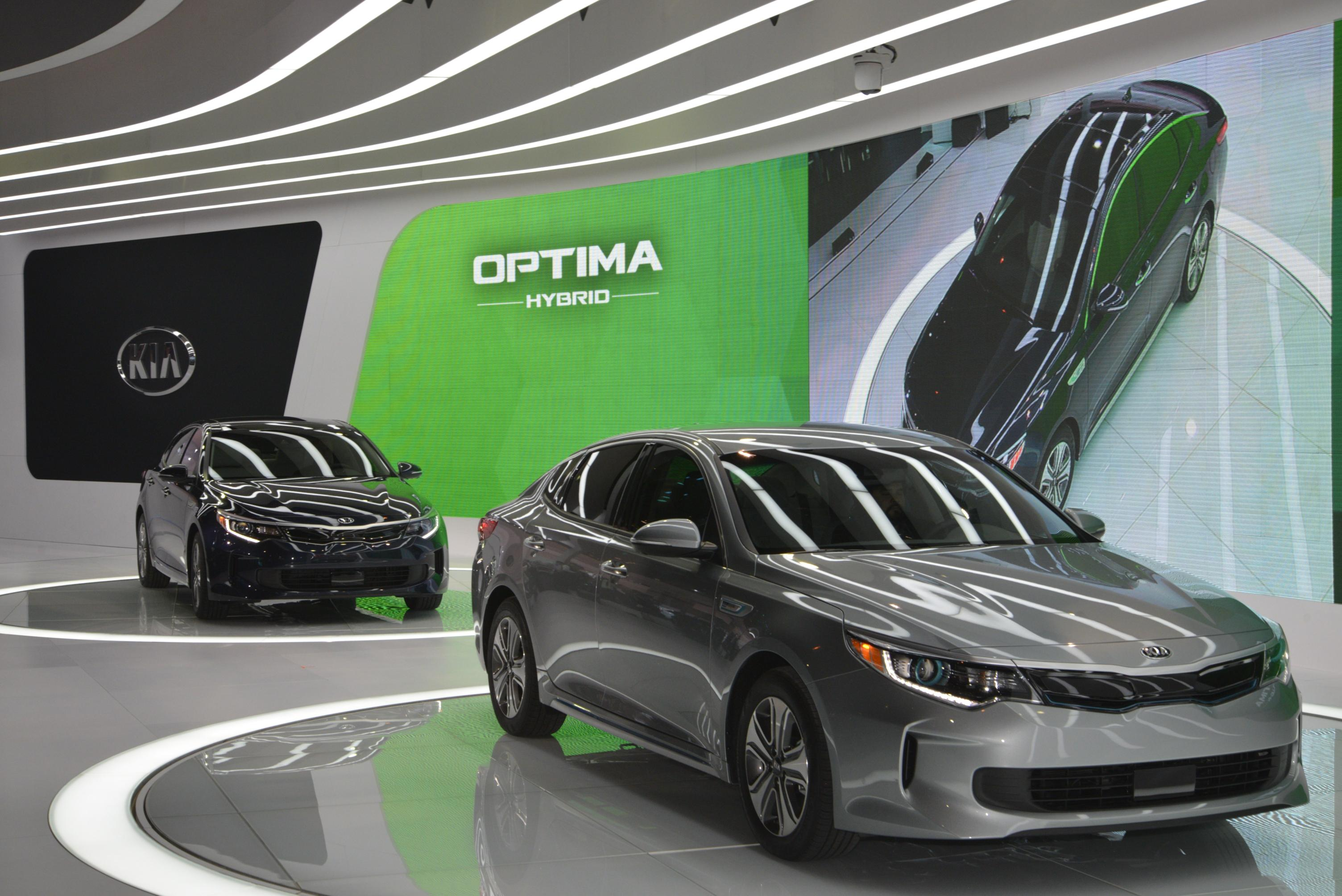 8 Photos 2017 Kia Optima Hybrid