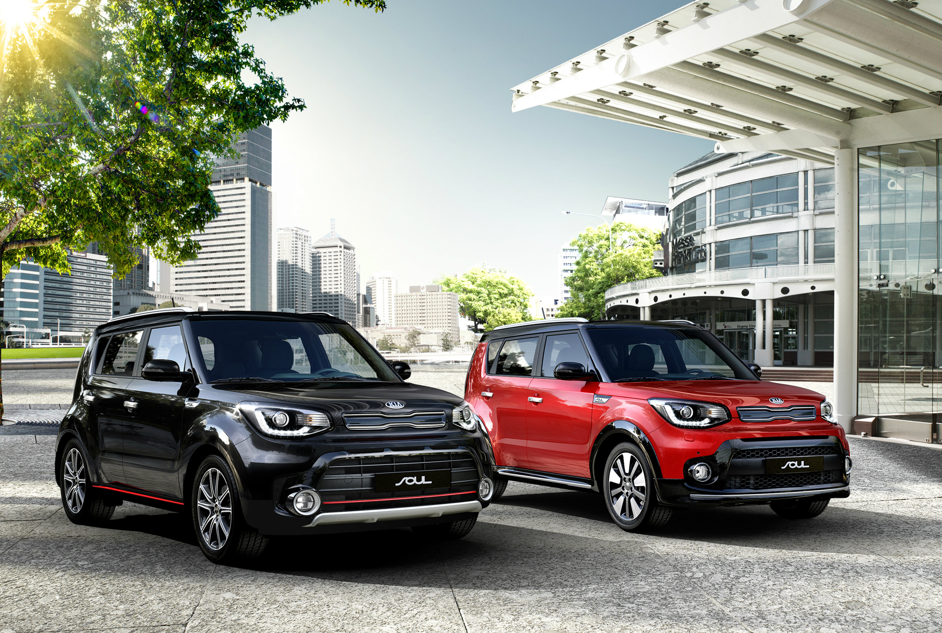 2017 kia soul facelift will make european debut in paris adds 1 6 t gdi engine autoevolution. Black Bedroom Furniture Sets. Home Design Ideas