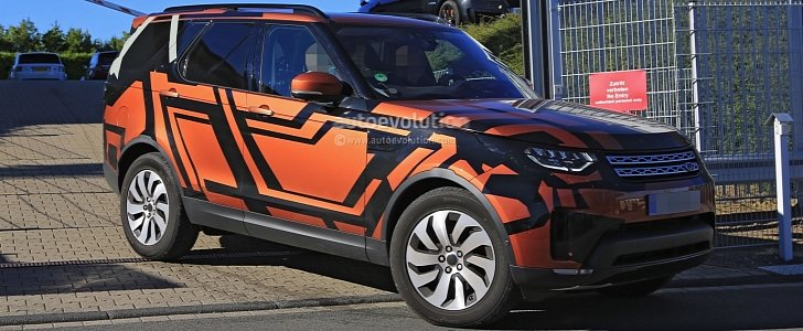 2018 land rover lr5.  land 2017 land rover discovery 5  2018 lr5 spied reveals more skin   autoevolution with land rover lr5 1