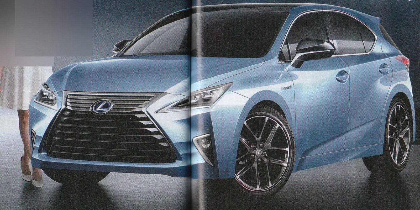 2017 Lexus Ct 200h Rendered To Debut In January