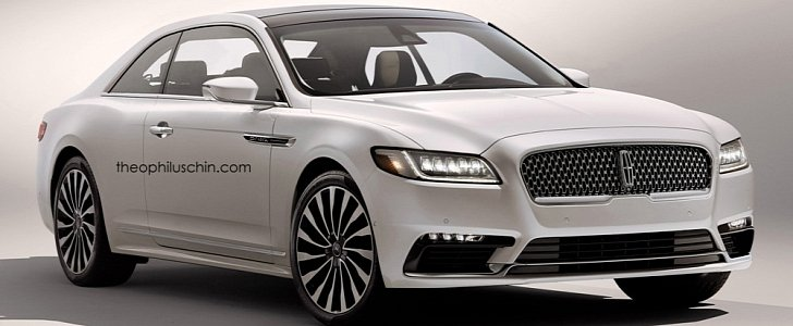 2017 Lincoln Continental Coupe Rendered: Why Ford Shouldn't Build This