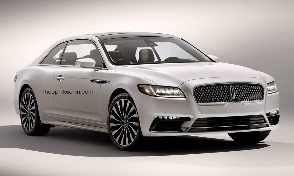 2017 Lincoln Continental Coupe Rendered Why Ford Shouldn T Build This