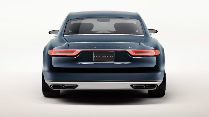 2017 lincoln continental previewed by new york auto show bound concept auto. Black Bedroom Furniture Sets. Home Design Ideas