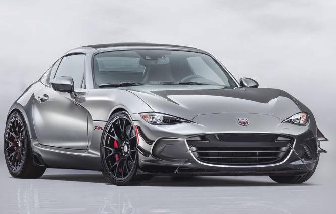 2017 Mazda Miata Rf Gets Dodge Viper Acr Aerodynamics In Awesome Rendering