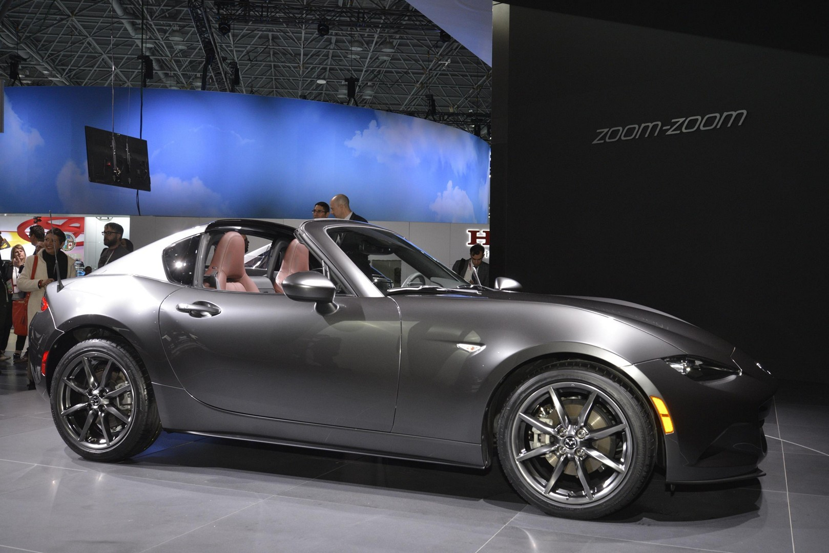 2017 mazda mx 5 miata rf launch edition priced from. Black Bedroom Furniture Sets. Home Design Ideas