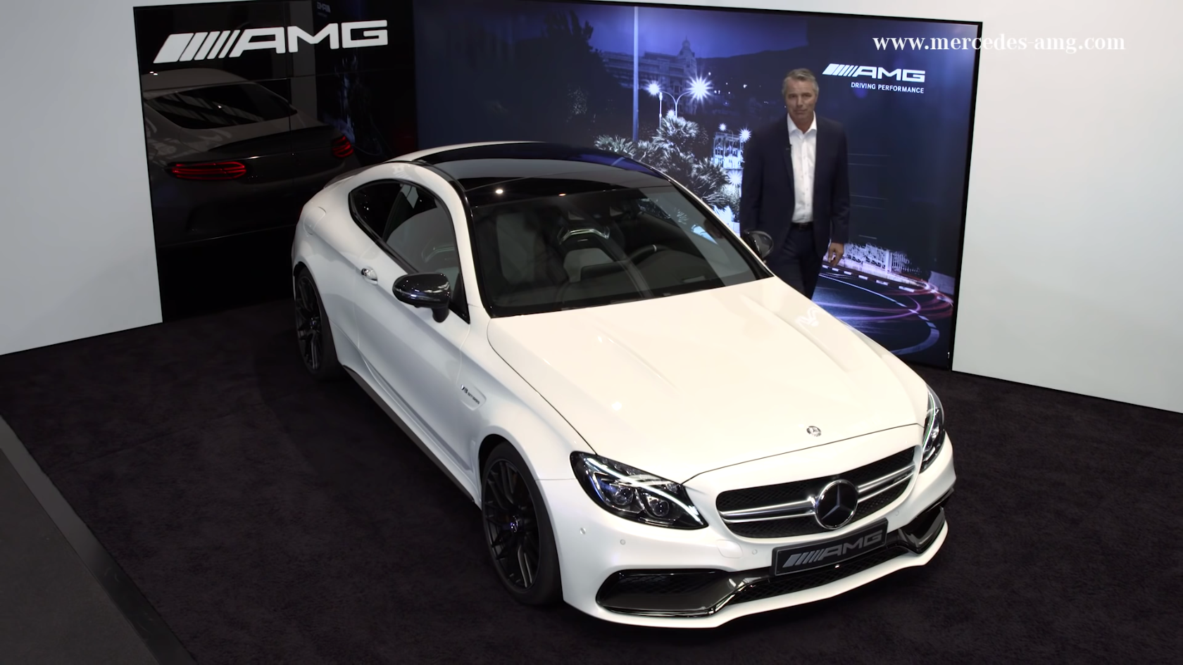 2017 Mercedes Amg C63 Coupe Gets Comprehensive Walkaround Video Presentation
