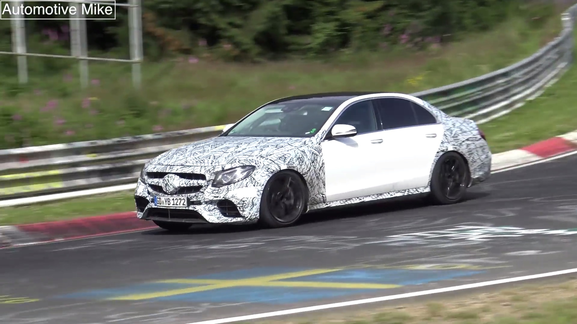 2017 Mercedes-AMG E63 (W213) Drops Hot Laps On the Nurburgring