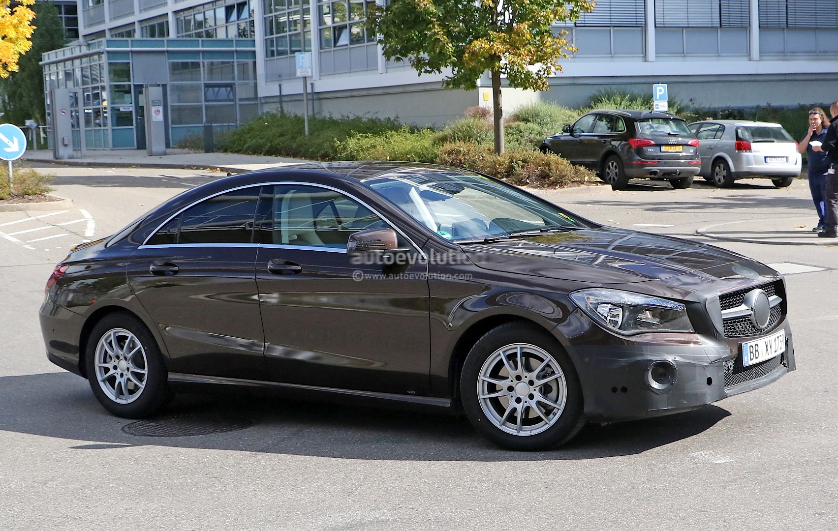 2017 Mercedes Benz Cla Facelift Gets Visited By The Spy 48 Volt Solenoid Wiring Diagram 10 Photos