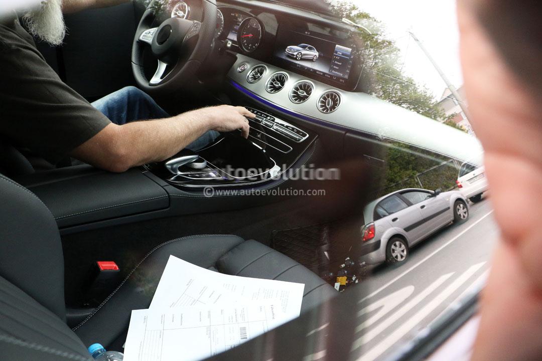 2017 Mercedes Benz E Class Coupe 39 S Interior Spied Hiding Some Surprises Autoevolution