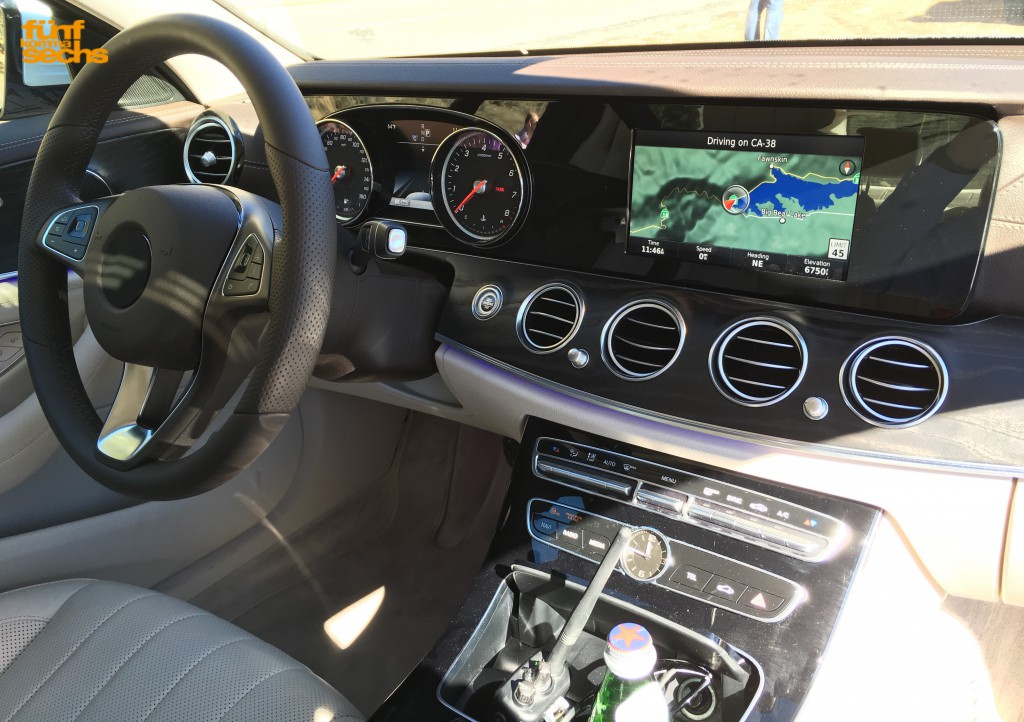 2017 Mercedes Benz E Cl Entry Level Interior Looks Less Cly More Patchy