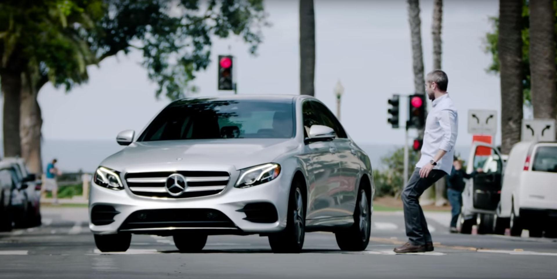 Mercedes-Benz E-Class: Lane Keeping Assist