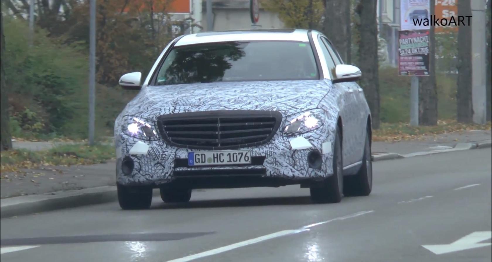 2017 Mercedes Benz E Class Long Wheelbase Is The Mini Maybach In