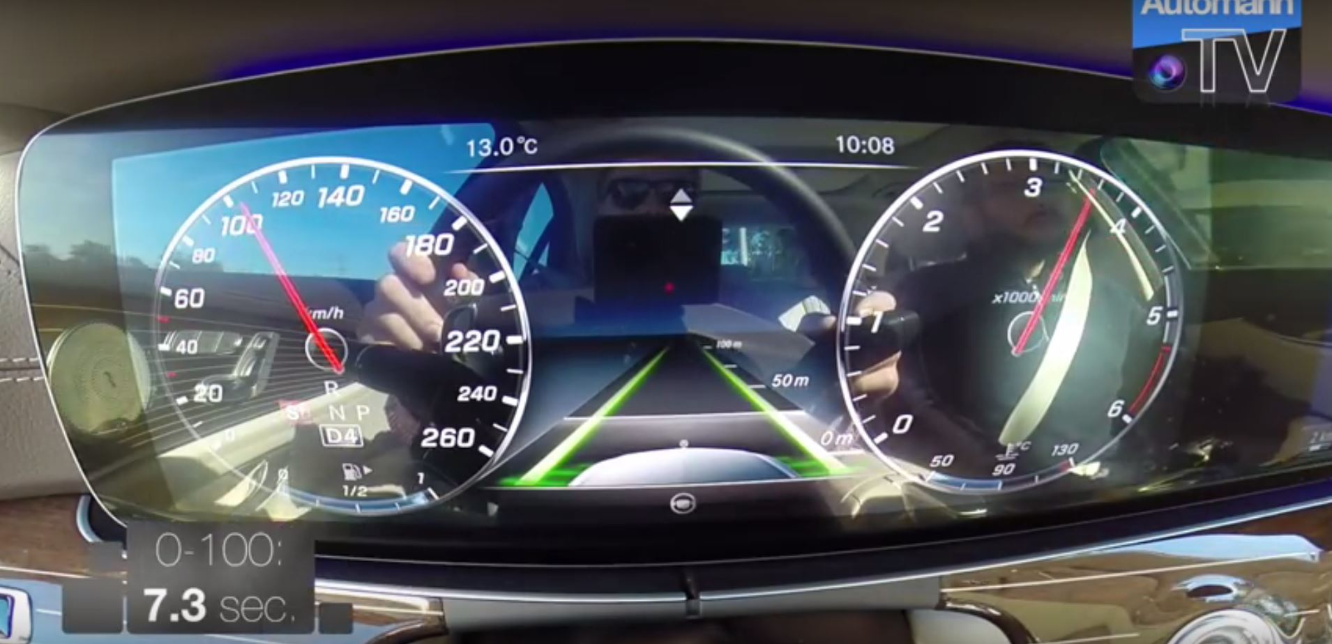 2017 Mercedes E 220d Acceleration Test Shows New 2 0-Liter