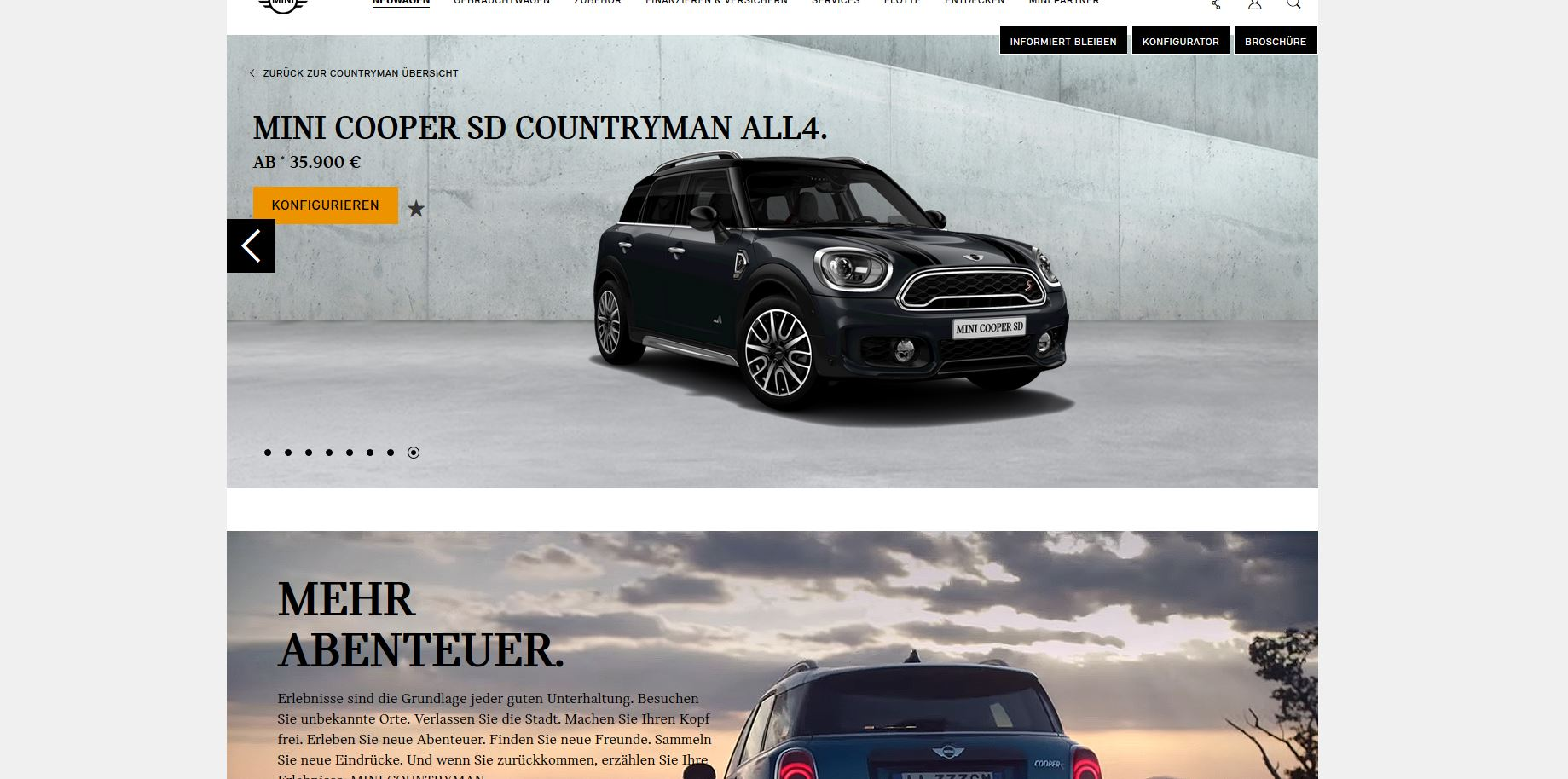 2017 Mini Countryman Configurator Launched 26500 For Base Cooper