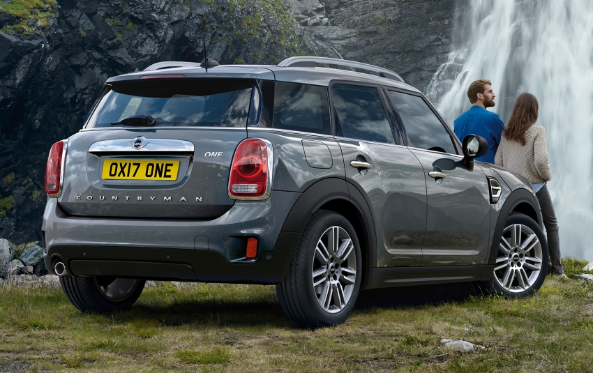 2017 Mini Countryman One And D Debut With 1 5l Engines