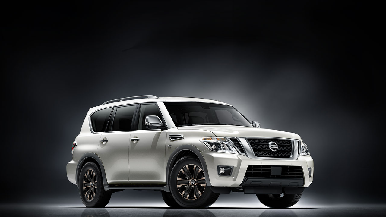 2017 Nissan Armada Shares Body-on-Frame Chassis with the ...