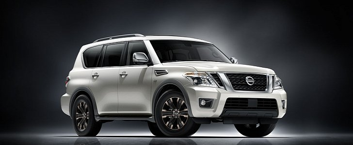 2017 nissan armada shares body on frame chassis with the patrol y62 autoevolution. Black Bedroom Furniture Sets. Home Design Ideas