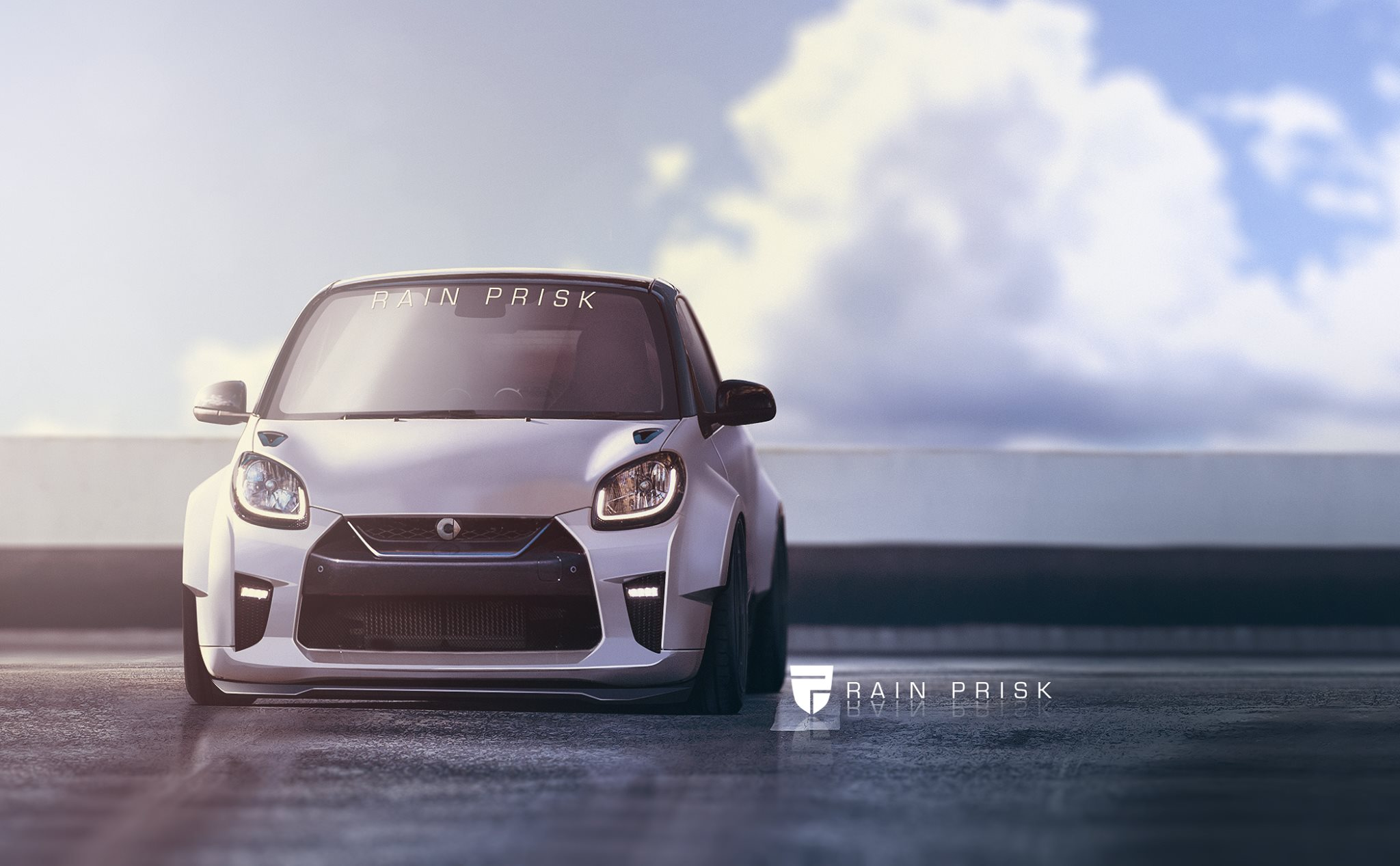 2017 Nissan Gt R And Smart Fortwo Make For An Extreme Mashup