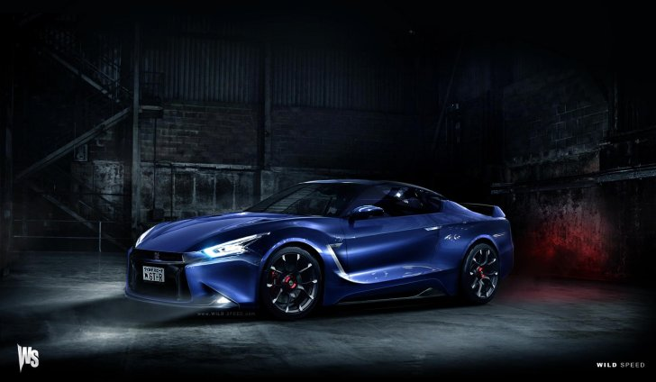 2017 Nissan GT-R Realistically Rendered